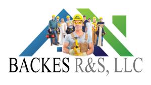 Backes Handyman crew & logo